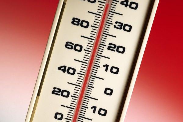 La temperatura es una característica física de toda la materia.