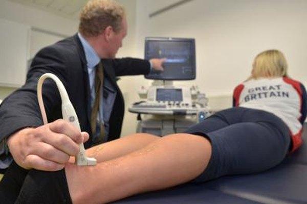 El ultrasonido se puede utilizar para diagnosticar lesiones deportivas, así como otras condiciones médicas.