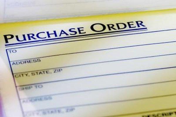 Las órdenes de requisición y órdenes de compra a veces afectan también cuando una empresa necesita hacer una compra importante.