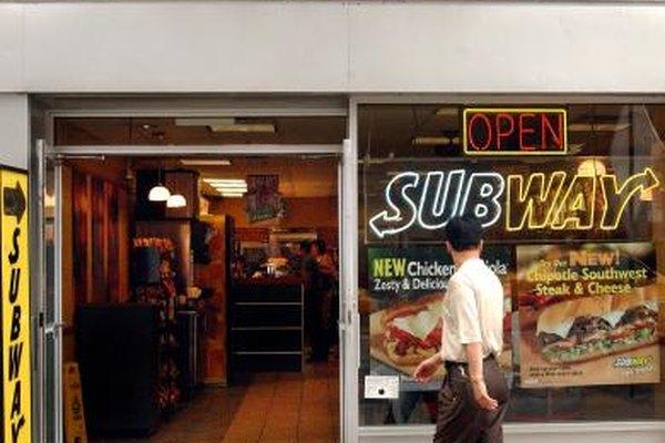 Ejecutar una restaurante Subway requiere de un entrenamiento corporativo extensivo.