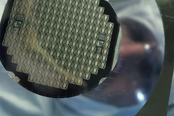 Silicon is strong and flexible enough to withstand the computer chip manufacturing process.
