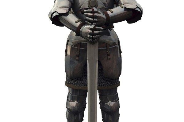 Con un poco de práctica y las herramientas necesarias, puedes hacer tu propia armadura.