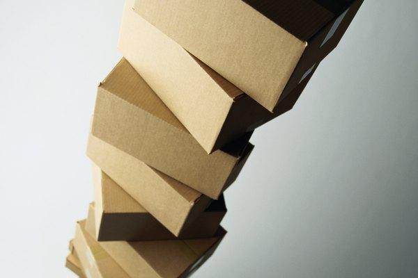 Cómo hacer edificios con cajas de cartón