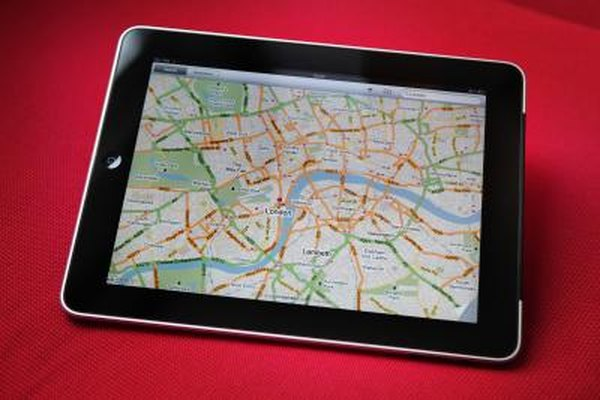 Locate your iPad on a map with Find My iPad.