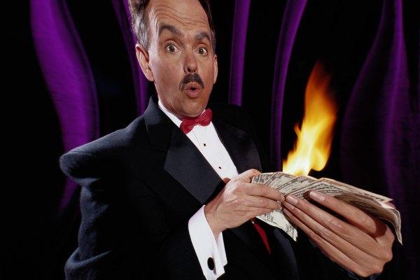 Crea tu propio papel flash para sorprender con tus trucos de magia.