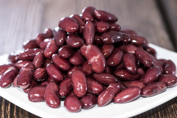 Kidney Beans on plate