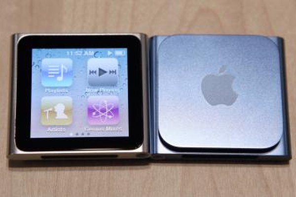 The iPod nano fits thousands of songs into a tiny device.