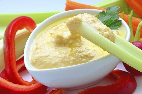 Hummus as a dip