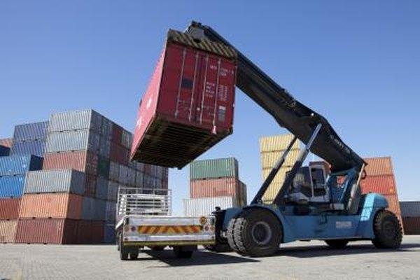 Las compañías de importación o exportación realizan negocios al rededor de todo el mundo.