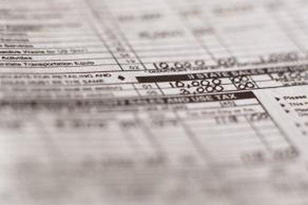 En la declaración de la renta individual de presentación de los impuestos federales, el Formulario 1040, los contribuyentes declaran sueldos y salarios.