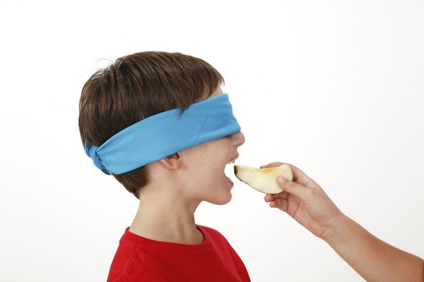 Kids may find it easier to smell foods before they eat them.