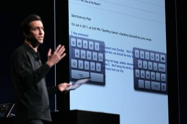 While Apple has tried some alternative keyboard systems, they're tightly controlled.