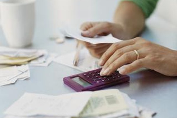 Cuentas por pagar en una empresa.