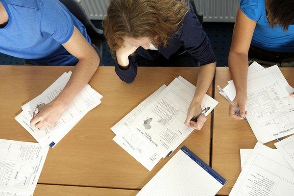 Algunos exámenes tienen más ponderación que otros.