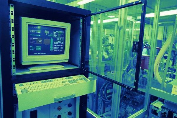 Un controlador lógico programable (PLC) es un tipo de ordenador utilizado en la industria.