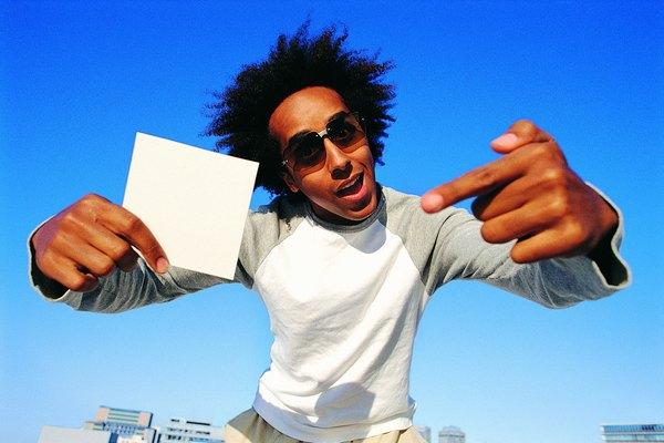 Puedes hacer infinidad de cosas con un trozo de papel en blanco.