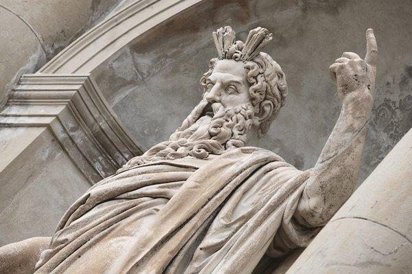 En la mitología griega, Zeus es el rey de los dioses.