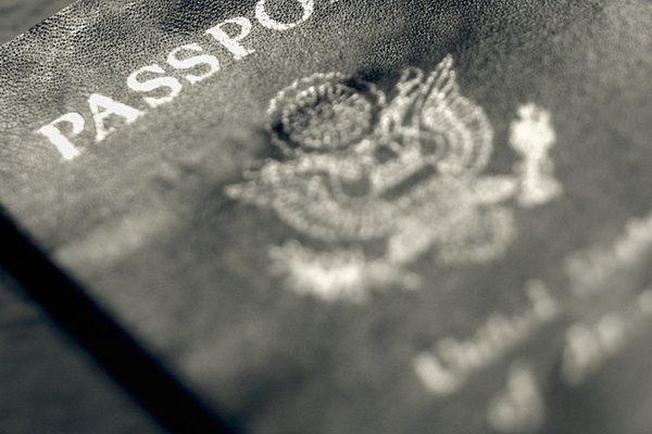 Un pasaporte de la UE.