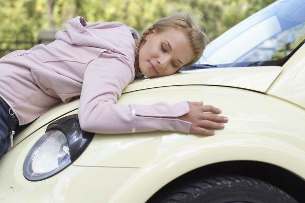 Cuida la pintura de tu auto.