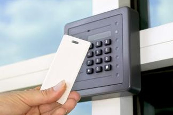 RFID smart cards provide convenient, high-tech security.