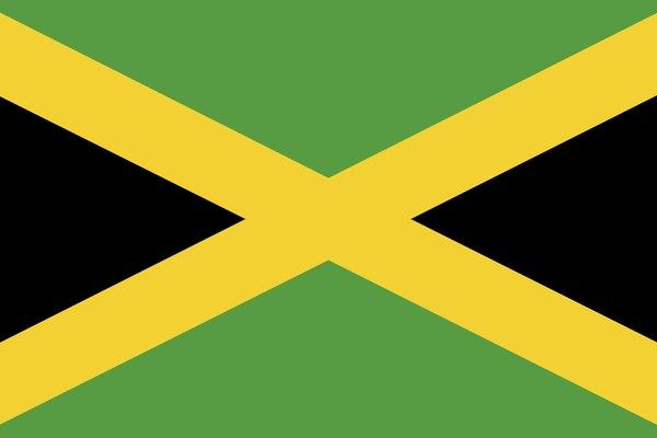 Bandera de Jamaica.
