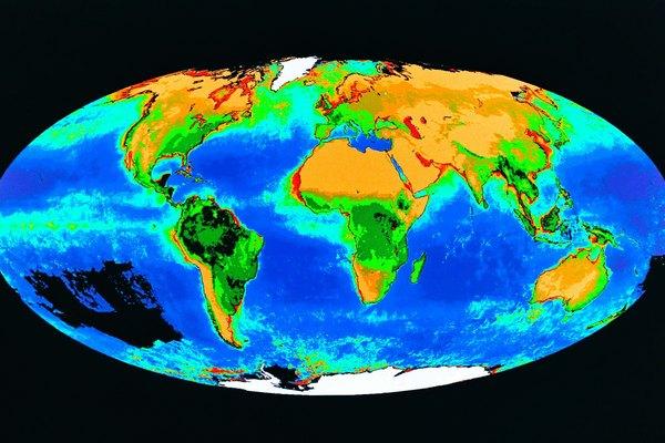 Aunque podría parecer que la corteza de la Tierra está hecha de una sola pieza uniforme, en realidad está construida a partir de una serie de placas que se mueven una contra la otra.