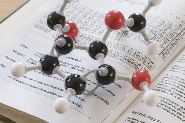 Las moléculas grandes tienen muchas geometrías de electrones y formas moleculares.