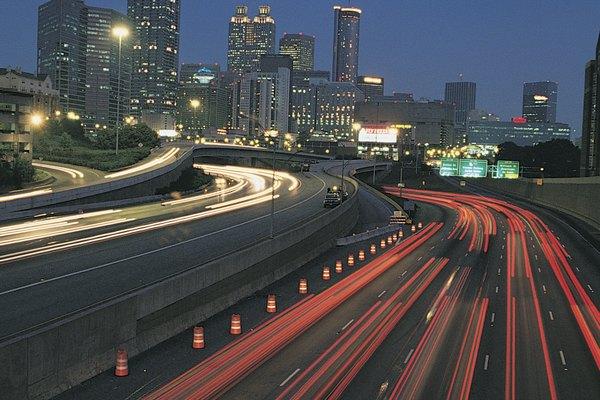 Grandes ciudades de Atlanta.