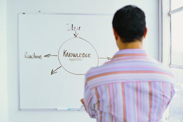 Un organizador gráfico muestra las relaciones entre la información.