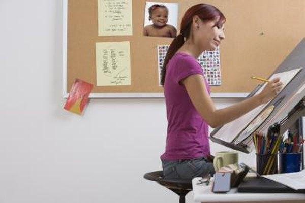 Tanto la experiencia laboral como la educación puede tender los cimientos de una carrera como ilustrador.