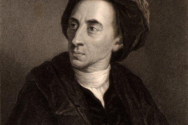Este poeta del siglo XVIII, Alexander Pope, es conocido por su uso de coplas heróicas.