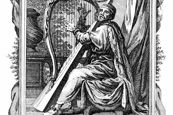 Imagen del rey David.