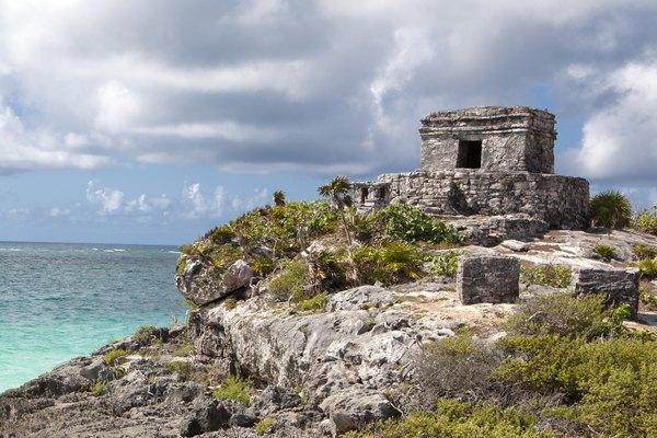 Tulum maya ruins.