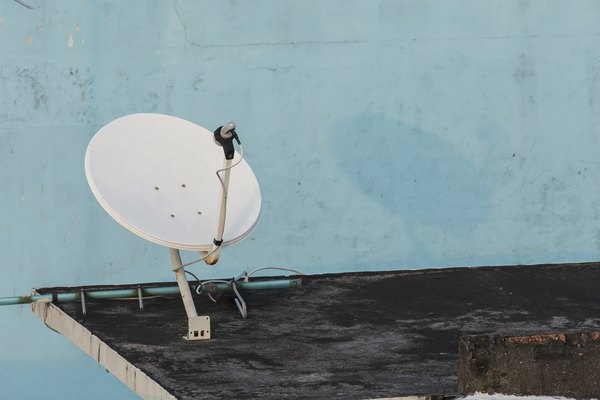 Aim your Dish Network dish toward the correct satellite for your area or you may not receive a high-quality signal.