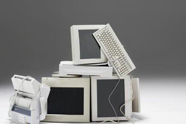 Existen formas de deschar computadoras que no dañan al medio ambiente.
