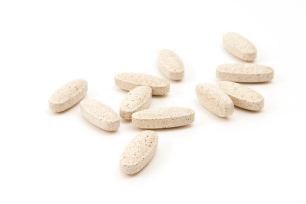 Multi-Vitamin on White Background