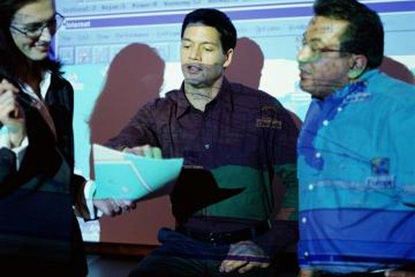 Los proyectores LCD proyectan imágenes definidas de texto.