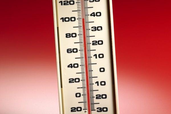 Las escalas de temperaturas Fahrenheit y Celsius están relacionadas matemáticamente.