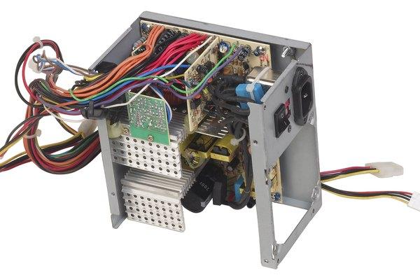 Los circuitos eléctricos modernos pueden ser muy complejos.