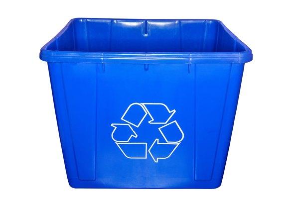 Bote de reciclaje.