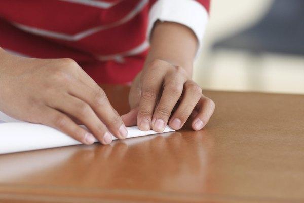 Puedes doblar cualquier tipo de papel en un pliegue de acordeón.