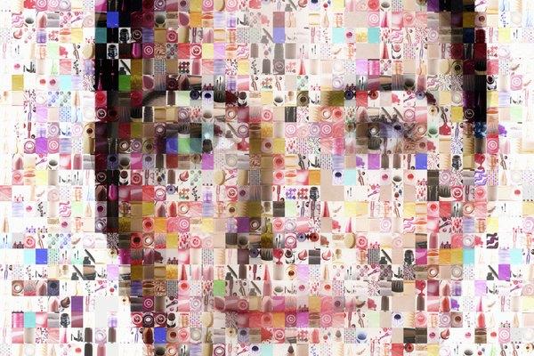 Explora los materiales, incluyendo computadoras, que pueden ser usados para crear collages.