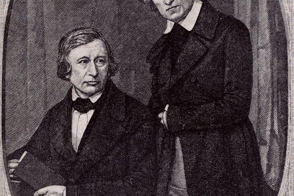 Los hermanos Grimm son conocidos por sus volúmenes de cuentos populares y cuentos de hadas.