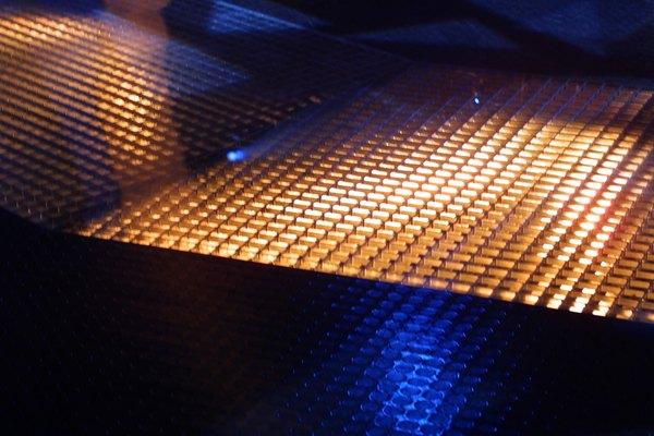 Calentamiento de un metal.