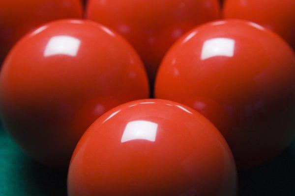 Bolas de colores no tradicionales.