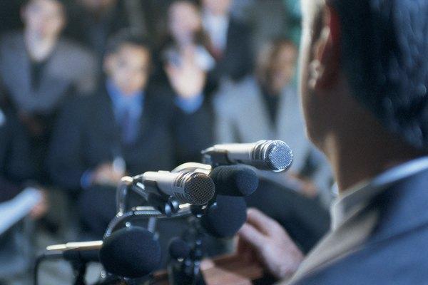 El discurso tiene cinco componentes básicos.