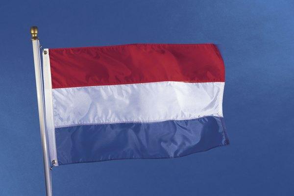La bandera de Luxemburgo.