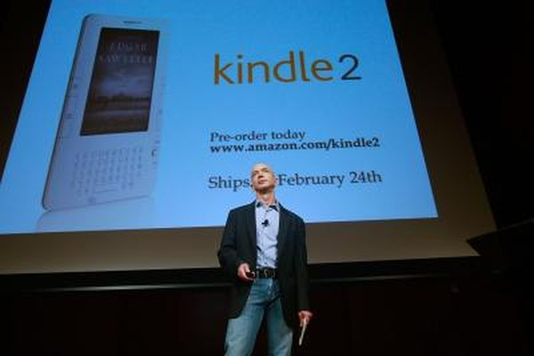 Amazon dropped support for SD cards with the Kindle 2.