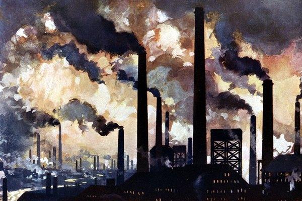 Algunas actividades industriales pueden tener efectos residuales negativos.