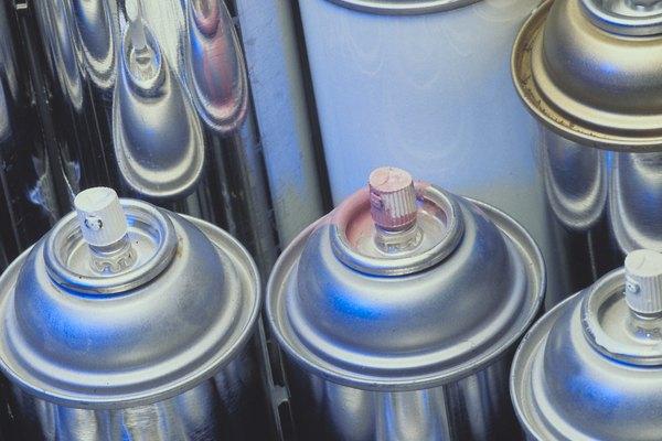 Consulta la duración del secado en la lata de aerosol.